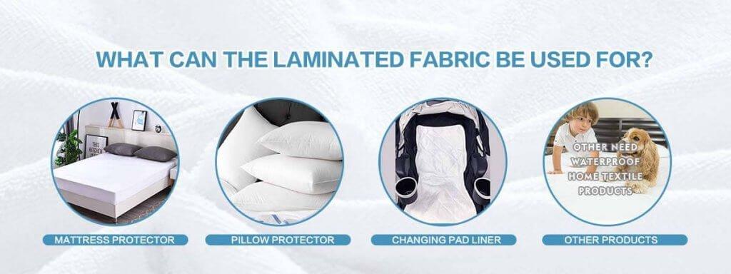 laminated fabric application