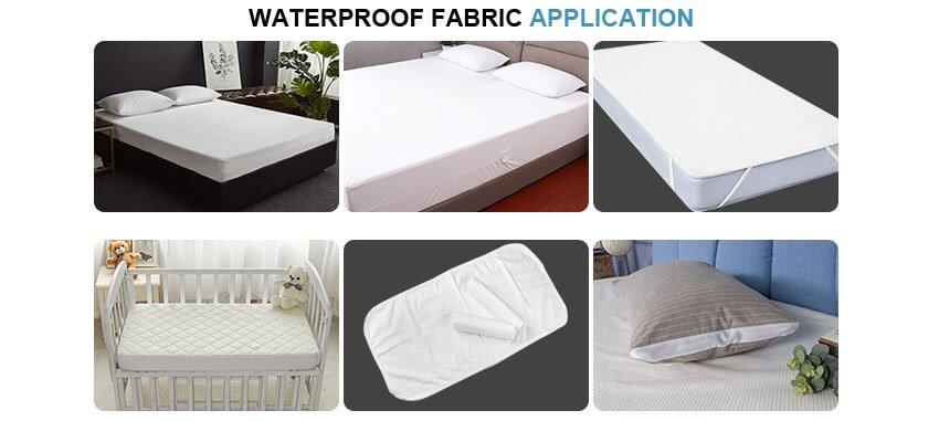waterproof fabric application